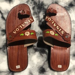 Leather Sandals, Brand New (make an offer)